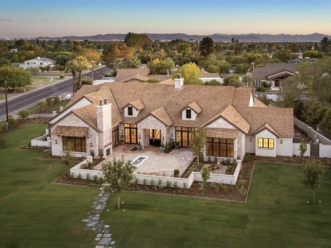 Single Family Home for sales at Magnificent New Home in Arcadia 4949 E Exeter Blvd Phoenix, Arizona 85018 United States
