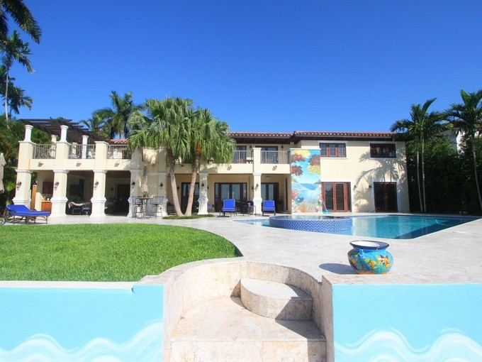 Single Family Home for sales at 6300 N Bay Rd    Miami Beach, Florida 33141 United States