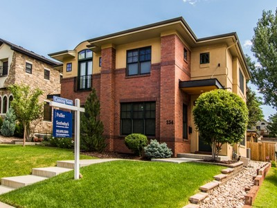 Townhouse for sales at 234 South Humboldt Street  Denver, Colorado 80209 United States