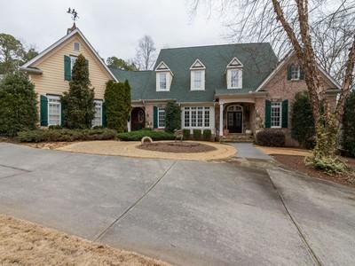 Maison unifamiliale for sales at Enjoy Luxury Living 240 Rose Ridge Drive Canton, Georgia 30115 États-Unis