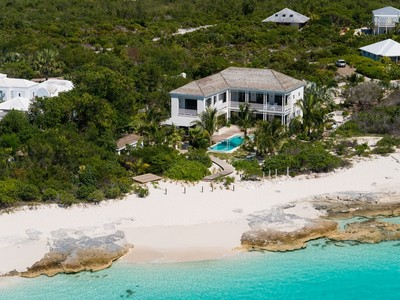 Moradia for sales at Saving Grace - Luxurious Beachfront Villa  Grace Bay, Providenciales TCI BWI Turks E Caicos
