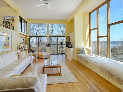 Single Family Home for sales at Spectacular River View Contemporary 292 Tweed Blvd. Piermont, New York 10968 United States