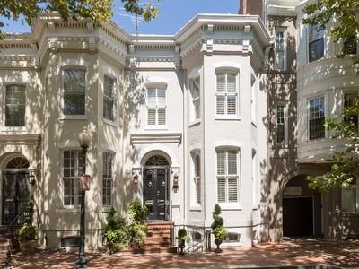 Residência urbana for sales at Georgetown 3007 P Street Nw  Washington, Distrito De Columbia 20007 Estados Unidos