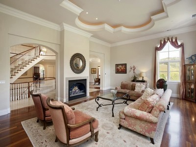 Single Family Home for sales at Exceptional Home in Tranquil Setting 100 Bridges Court Alamo, California 94507 United States