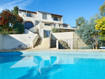 Einfamilienhaus for sales at Super Cannes - Private estate - luxury renovated villa with sea view  Cannes, Provence-Alpes-Cote D'Azur 06400 Frankreich