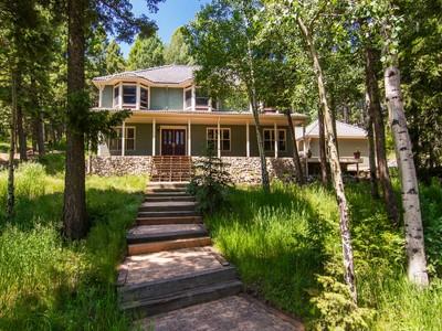 Maison unifamiliale for sales at 5077 Bear Mountain Drive  Evergreen, Colorado 80439 États-Unis