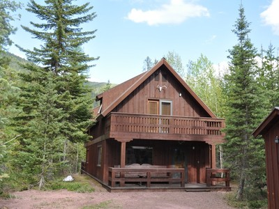 Single Family Home for sales at Custom Chalet Style Home 35 Walker Road Essex, Montana 59916 United States