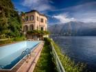Casa para uma família for  sales at Splendid villa with wharf Via Regina Carate Urio, Como 22010 Itália