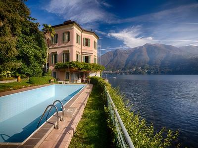 Vivienda unifamiliar for sales at Splendid villa with wharf Via Regina Carate Urio, Como 22010 Italia