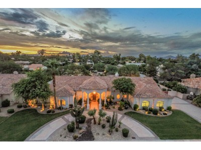 Single Family Home for sales at Exquisitely Maintained & Updated Executive Home In OrangeTree Manor 6118 E Yucca Street Scottsdale, Arizona 85254 United States