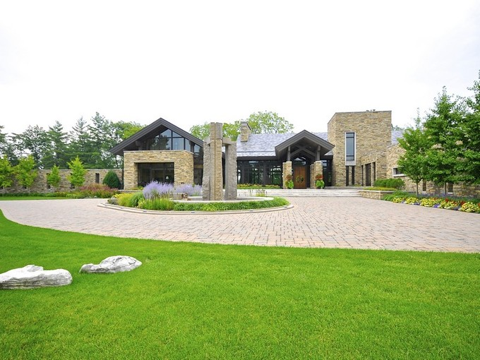 Single Family Home for sales at Extraordinary Private Estate 1425 Castania Way Indianapolis, Indiana 46228 United States