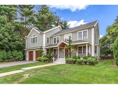 Nhà ở một gia đình for sales at Colonial 131 Upland Road  Newton, Massachusetts 02468 Hoa Kỳ