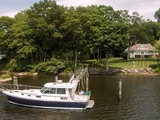 Single Family Home for sales at Deep Water Dock On Hamburg Cove 79 Cove Road Lyme, Connecticut 06371 United States
