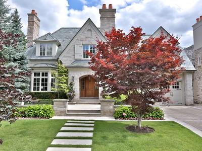 Частный односемейный дом for sales at Elegance in Lawrence Park 19 Stratheden Road Toronto, Онтарио M4N1E2 Канада