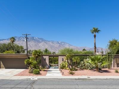 Einfamilienhaus for sales at 499 North Orchid Tree Lane  Palm Springs, Kalifornien 92262 Vereinigte Staaten