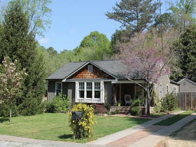Single Family Home for sales at Renovated Craftsman Home 398 Cascade Drive NW Marietta, Georgia 30064 United States