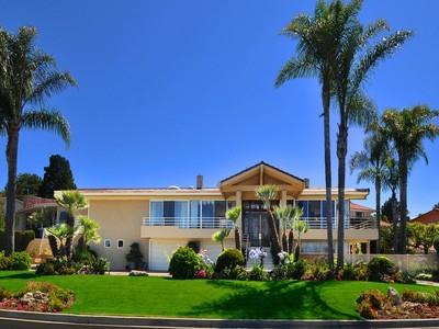 Maison unifamiliale for sales at 961 Via Del Monte  Palos Verdes Estates, Californie 90274 États-Unis