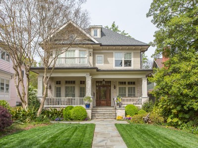 Einfamilienhaus for sales at Great Ansley Park Home 44 Park Lane NE Atlanta, Georgia 30309 Vereinigte Staaten