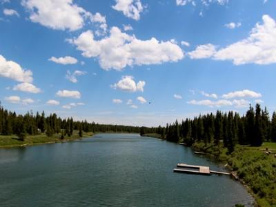 土地,用地 for sales at Henry's Fork River Homesite 2 4040 Elk Ridge Drive Island Park, 爱达荷州 83429 美国