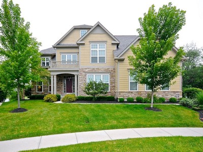 Einfamilienhaus for sales at Picturesque Setting in Brookhaven 11340 Abbitt Trail Zionsville, Indiana 46077 Vereinigte Staaten