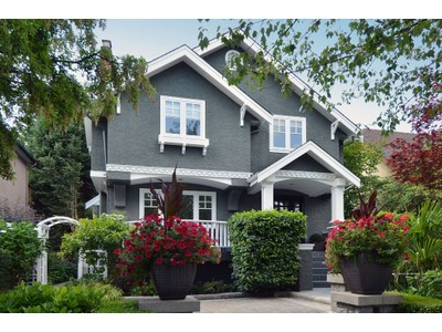 Nhà ở một gia đình for sales at Stunning Point Grey Home Vancouver, British Columbia Canada