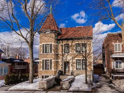 Частный односемейный дом for sales at Outremont 27 Av. McNider Outremont, Квебек H2V3X4 Канада