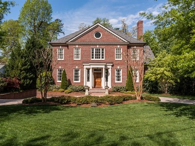 Einfamilienhaus for sales at Budleigh Estate 1807 Chester Road Raleigh, North Carolina 27608 Vereinigte Staaten