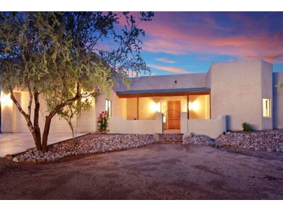 Single Family Home for sales at Exquisite Private Ranch Estate Is Country Living At Its Best On 2+ Acres 13150 N Sandra Road Marana, Arizona 85658 United States