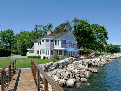 Villa for sales at Direct Waterfront Living in Private Association 12 Nathan Hale Drive Norwalk, Connecticut 06854 United States