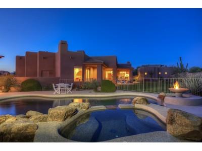 Maison unifamiliale for sales at Remarkable Desert Compound In Guard Gated Sincuidados 8300 E Dixileta Drive #236 Scottsdale, Arizona 85266 États-Unis