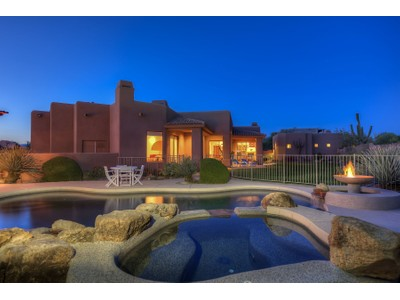 Частный односемейный дом for sales at Remarkable Desert Compound In Guard Gated Sincuidados 8300 E Dixileta Drive #236 Scottsdale, Аризона 85266 Соединенные Штаты