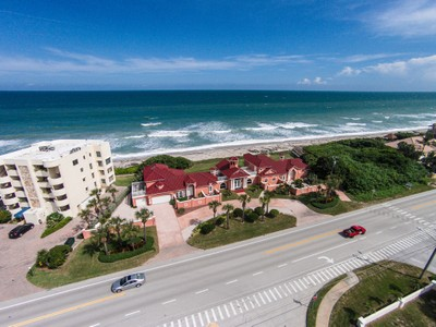 Other Residential for  at Oceanfront Estate 3055 HIGHWAY A1A Melbourne Beach, Florida 32951 United States