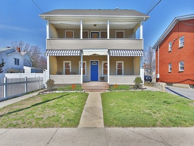 Single Family Home for sales at Quintessential Beach Home 803 A St Belmar, New Jersey 07719 United States