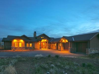 Частный односемейный дом for sales at Rare Ranch Home with Views 6795 Ironcap Cir Park City, Юта 84098 Соединенные Штаты