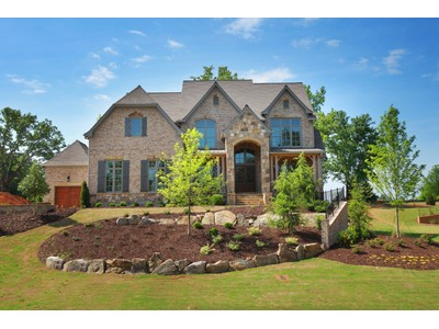 Single Family Home for sales at English Country Estate on Golf Course 3277 Watsons Bend Alpharetta, Georgia 30004 United States
