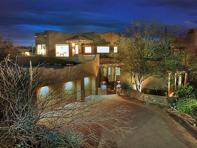 Vivienda unifamiliar for sales at One Of A Kind Custom Home On The Monument Course In Troon North 29089 N 108th Street Scottsdale, Arizona 85262 Estados Unidos