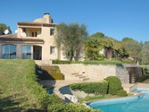 Maison unifamiliale for sales at Lovely Provencal villa for sale in a secured domain of Mougins  Mougins,  06250 France