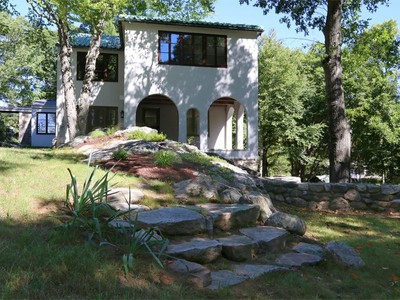 단독 가정 주택 for sales at Unique Tuscan Villa 151 Good Hill Road Weston, 코네티컷 06883 미국