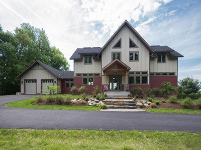 Einfamilienhaus for sales at A Stunning and Sustainable, Eco-Friendly 3 Larkspur Court Greenfield Center, New York 12833 Vereinigte Staaten