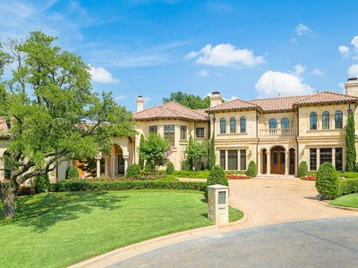 一戸建て for sales at Luxurious Gated Estate 6312 Carrington Drive Dallas, テキサス 75254 アメリカ合衆国