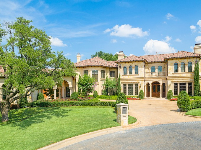Single Family Home for sales at Luxurious Gated Estate 6312 Carrington Drive Dallas, Texas 75254 United States