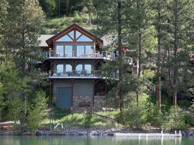 Single Family Home for sales at Whitefish Lakefront Home 2818 Rest Haven Dr Whitefish, Montana 59937 United States