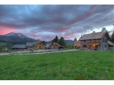 獨棟家庭住宅 for sales at Elk Peaks Ranch    Big Sky, 蒙大拿州 59716 美國