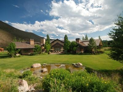 Casa para uma família for sales at Generational Masterpiece  Ketchum, Idaho 83340 Estados Unidos