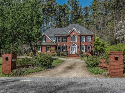 Single Family Home for sales at Brick traditional at Lake Spivey 2312 Forest Drive Jonesboro, Georgia 30236 United States