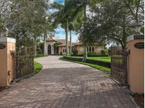 Maison unifamiliale for sales at 15448 Sunnyland 15448 Sunnyland Lane   Wellington, Florida 33414 États-Unis