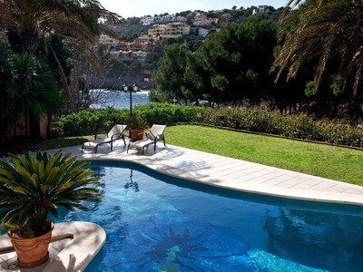 Single Family Home for sales at Sea view Villa of 3 bedrooms in Port Andratx  Other Balearic Islands, Balearic Islands 07157 Spain