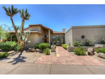 Nhà ở một gia đình for sales at Fabulous Custom Santa Barbara Home In A Prime Pinnacle Peak Location 24822 N 80th Place Scottsdale, Arizona 85255 Hoa Kỳ