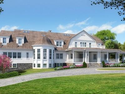 一戸建て for sales at Hamptons Shingle Style Center Hall colonial 4 Magnolia Place Rye, ニューヨーク 10580 アメリカ合衆国