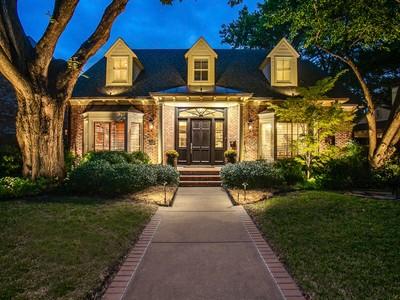 Maison unifamiliale for sales at University Park Traditional 2924 Stanford Avenue   Dallas, Texas 75225 États-Unis
